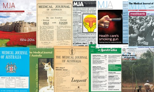 Various issues of the medical journal of Australia
