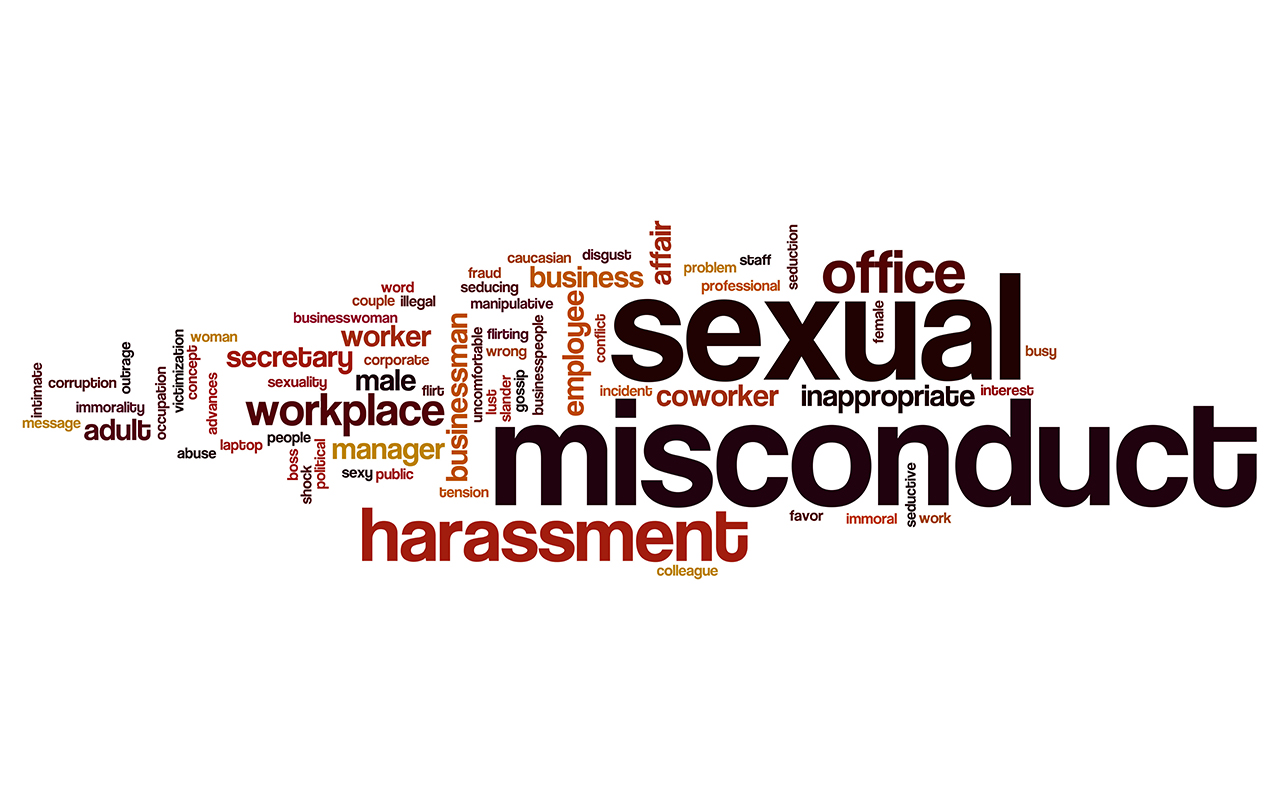 Sexual misconduct: numbers may be higher than notifications