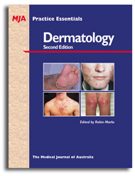 MJA Practice Essentials - Dermatology 2nd Edition cover