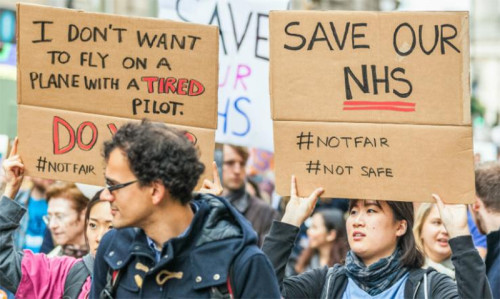Brit doctors strike over dangerous work changes - Featured Image