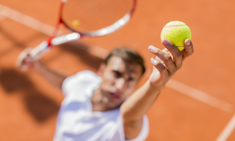 Double fault for surgery in tennis elbow